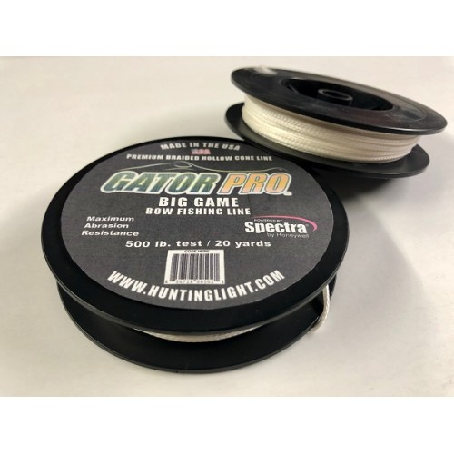 500 lb. test Braided Spectra Gator/Bowfishing Line *ALSO GREAT FOR LEADERS*