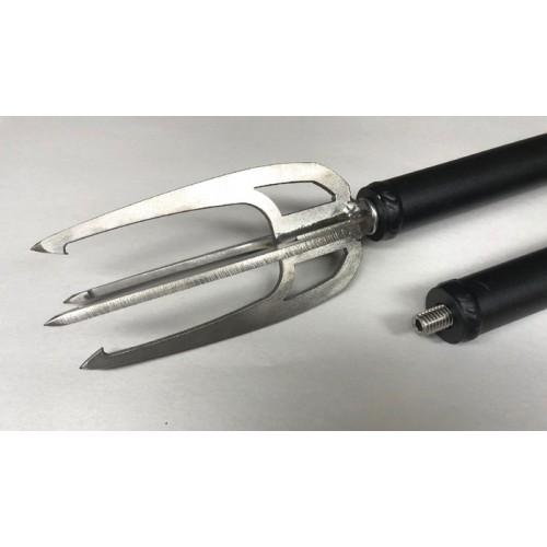 Complete Quad Fish Spear w/ 12' Pole