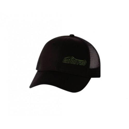 Gator Pro Official Gear Black Adjustable Mesh-Back Hat