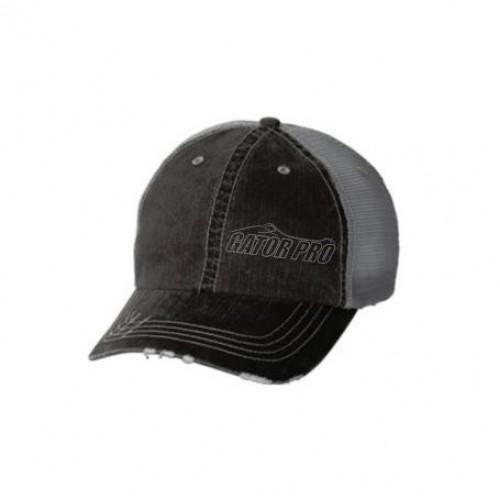 Gator Pro Official Gear Gray Adjustable Mesh-Back Hat