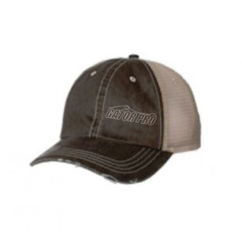 Gator Pro Official Gear Tan Adjustable Mesh-Back Hat